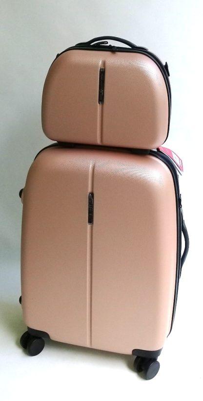 Бьюти-кейс в комплекте с чемоданом
